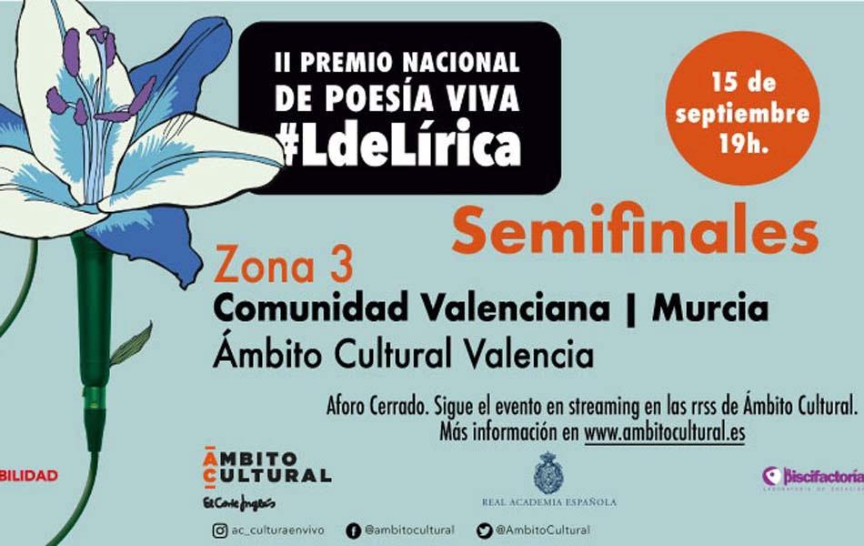 Nueve poetas valencianos protagonizarán la semifinal del premio #LdeLírica