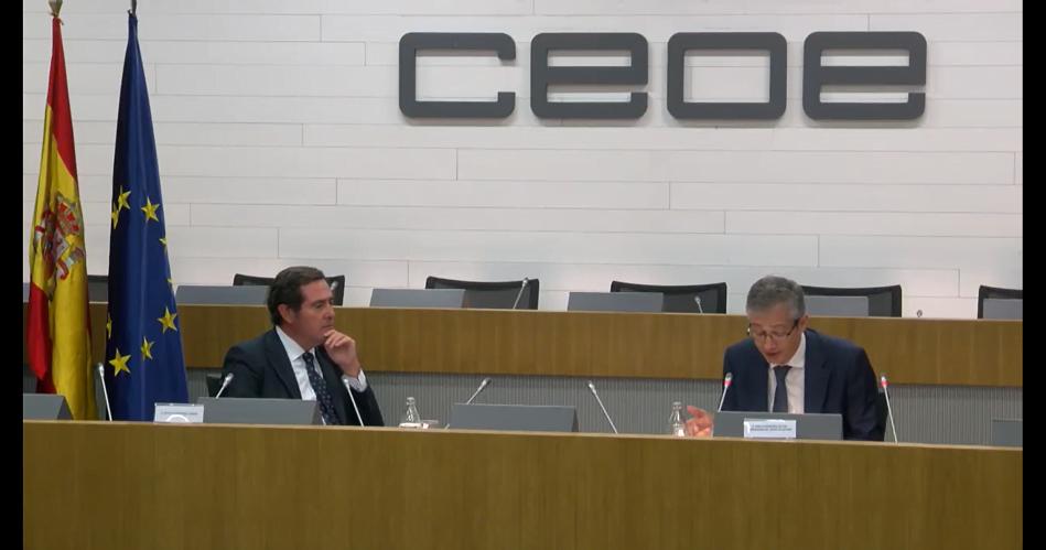 Imagen destacada La CEOE dice que el Gobierno miente en el coste de los ERTE y el BdE pide no tener miedo a extenderlos