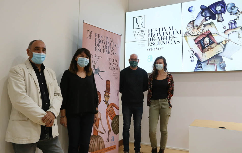 Imagen destacada El primer Festival de Artes Escénicas de la Diputación distribuye 280.000 euros