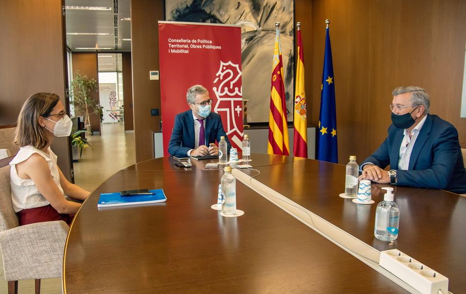 FVET y Conselleria de Política Territorial se reúnen para abordar las demandas del sector