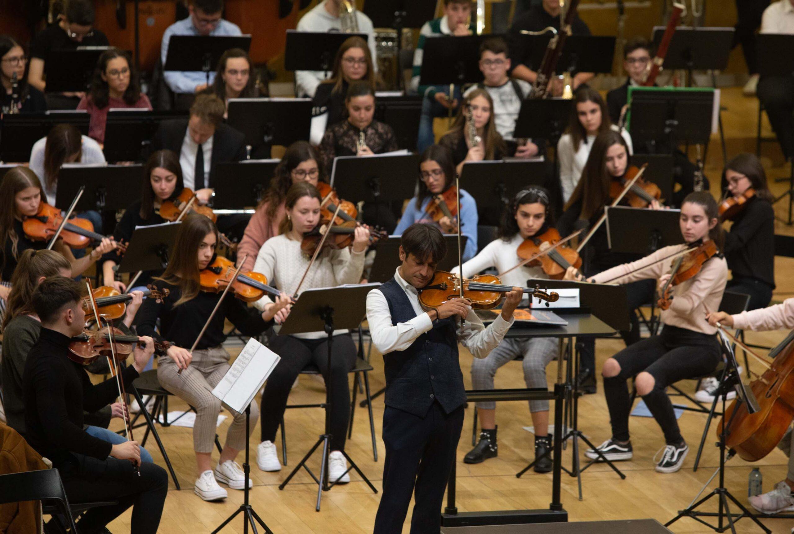 Imagen destacada La Orquesta de Jóvenes de Alicante ofrecerá un concierto por el 9 d'octubre