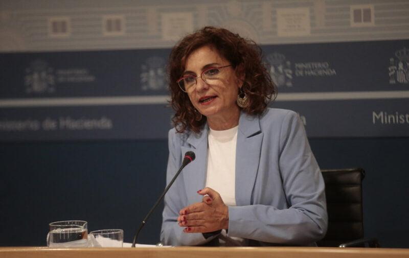 María Jesús Montero, ministra portavoz del Ejecutivo