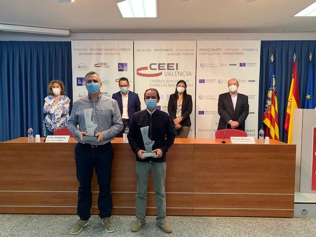 Caponnetto Hueber y Kenmei Technologies ganan los Premios CEEI-Ivace Valencia 2020