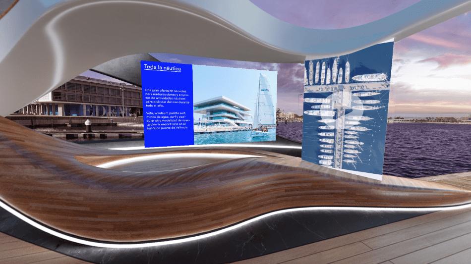La Marina de València muestra su potencia náutica en Virtual Valencia Boat Show