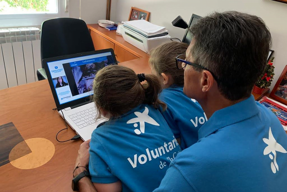 CaixaBank activa 200 actividades de voluntariado para empleados y clientes