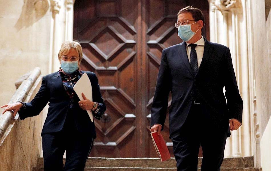 La Fiscalía pide rechazar las querellas contra Puig y Barceló por la COVID