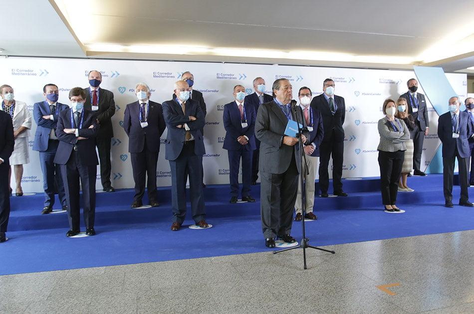 Corredor Mediterráneo urge a finalizar en 2025 las obras con recursos europeos