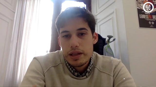 Borja Sanjuán (Hacienda) explica las prioridades del Ayuntamiento para 2021