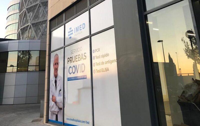 IMED Hospitales diagnostica la COVID en 15 minutos con el test de antígenos
