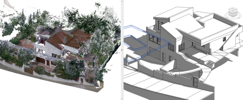 Omnia 360 aplica el escaneado láser y la metodología BIM en construcciones de la CV
