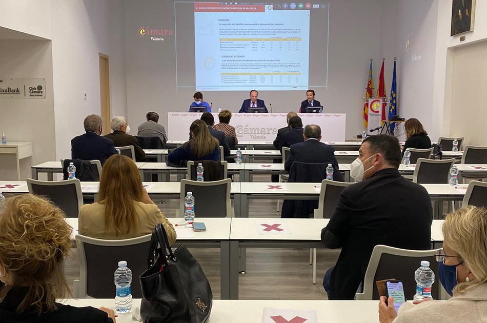 Cámara Valencia aprueba un presupuesto para 2021 de diez millones de euros