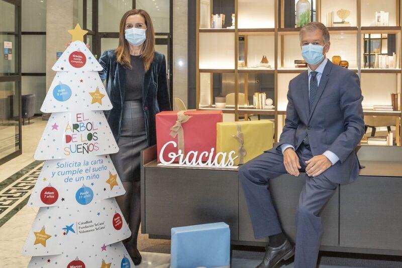CaixaBank facilitará a más de 2.100 niños de CV y 25.000 en España su regalo de Navidad
