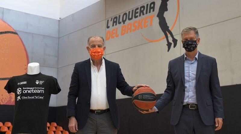 CaixaBank renueva su apoyo al programa social One Team del Valencia Basket Club