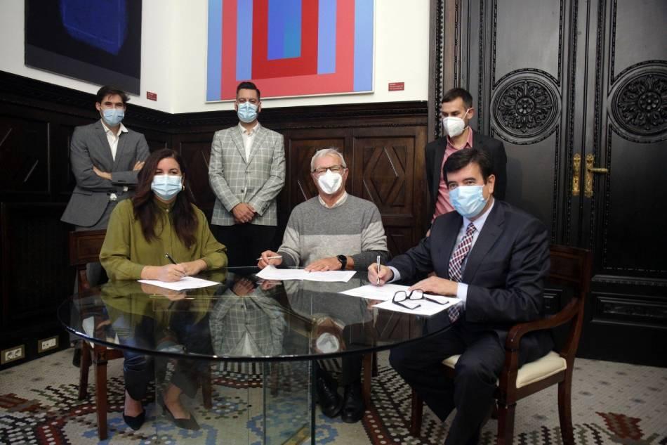 Compromís y PSPV firman con Cs el acuerdo para los presupuestos de València