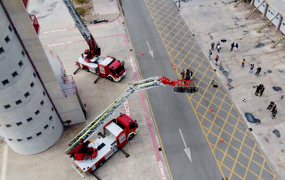 Modernización del equipamiento para el rescate de altura