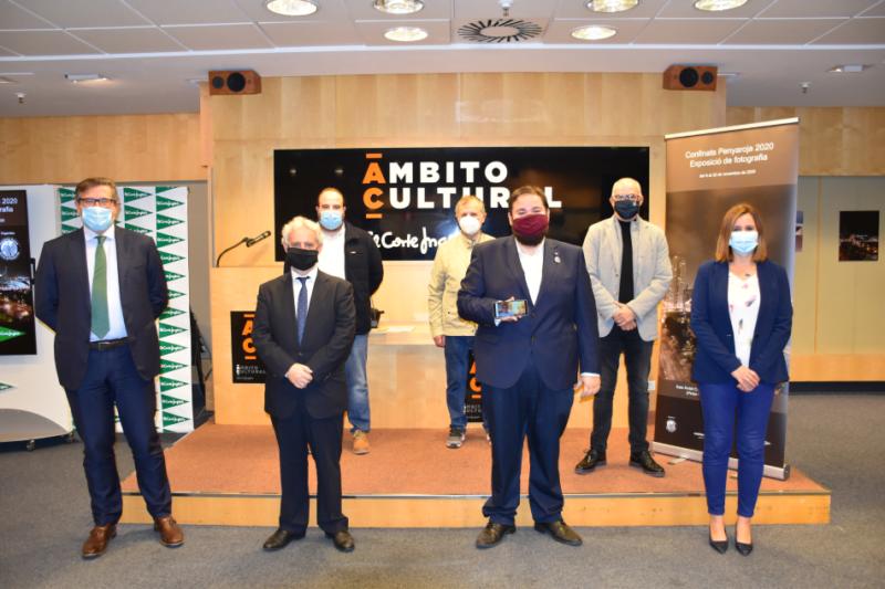 Inauguración de la exposición 'Confinats Penyaroja 2020'