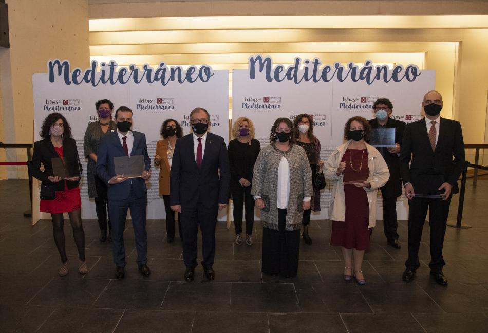 La Diputación de Castellón entrega los galardones 'Letras del Mediterráneo'