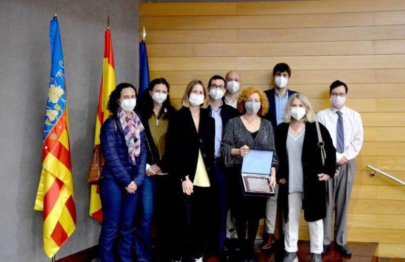 'Valencia, ciudad neuroprotegida' recibe el primer premio Sandalio Miguel