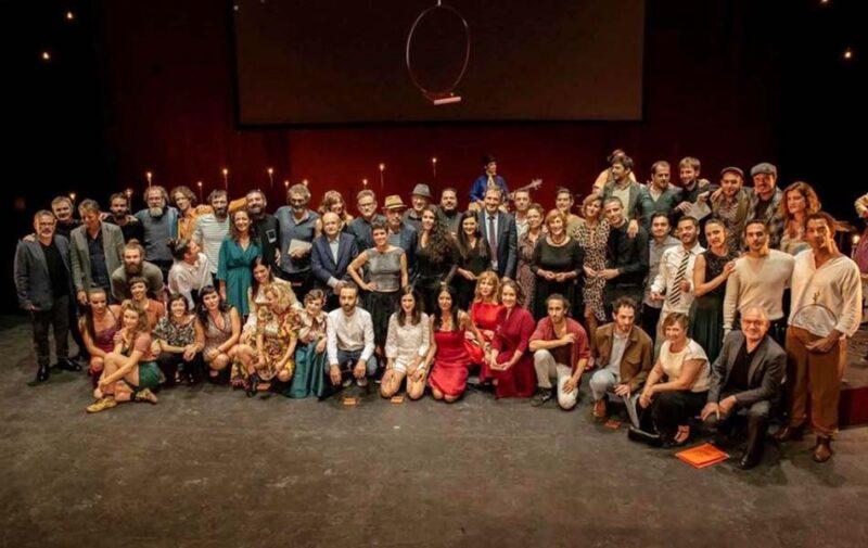 'Acampada', mejor espectáculo de teatro de los Premios de las Artes Escénicas