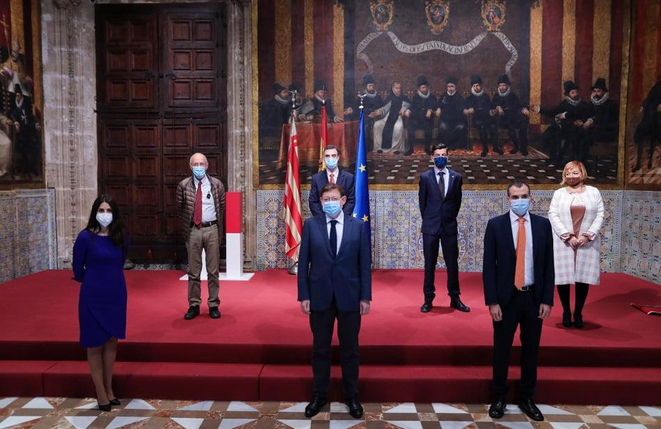 Imagen destacada Puig recibe en audiencia a las personas galardonadas con los Premios Rei Jaume I