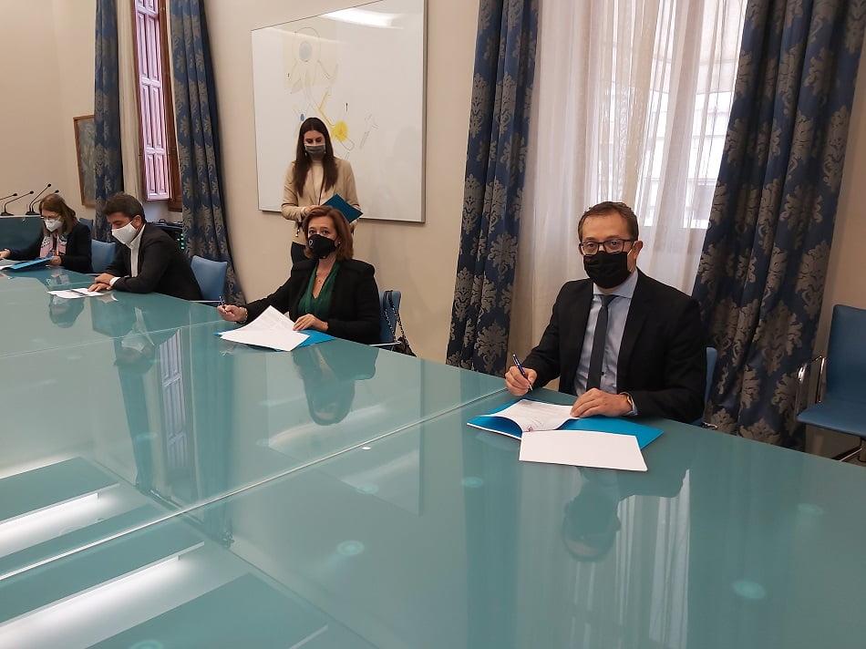 La UMH y la Diputación de Alicante colaboran en materia de educación y empleo
