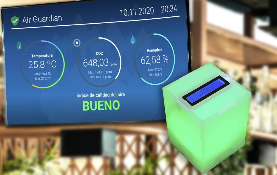 """Crean un dispositivo """"low cost"""" para medir la calidad del aire en espacios cerrados"""