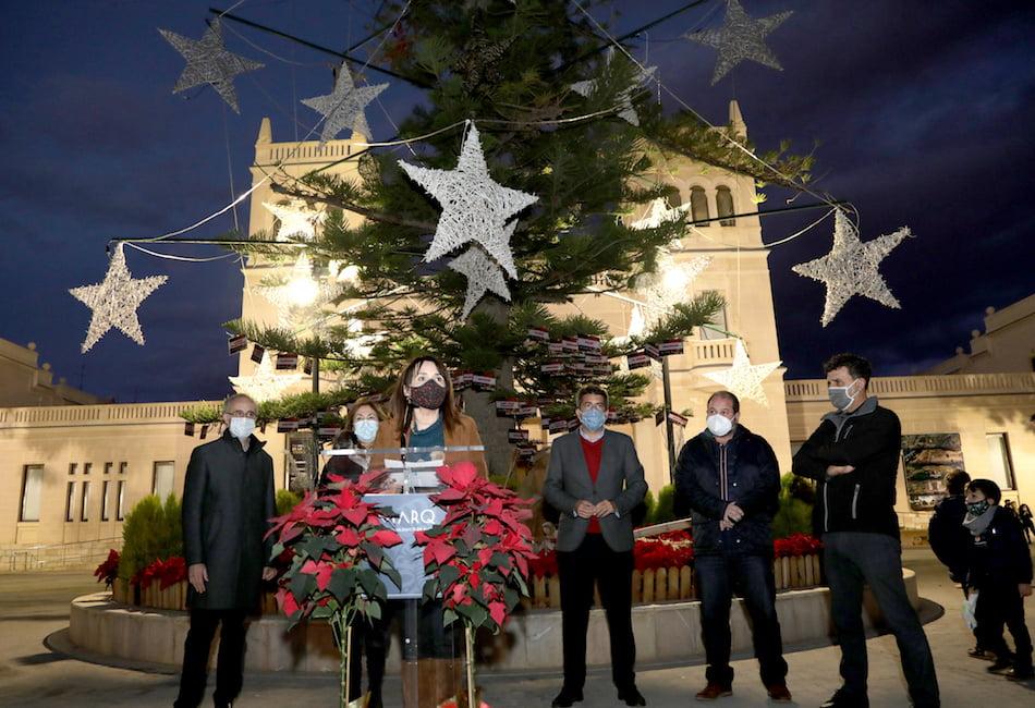 El MARQ arranca su programación navideña con el encendido del árbol