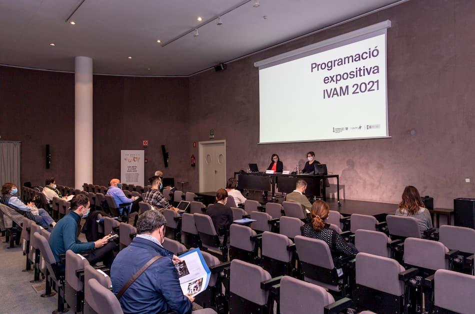 presentación de la programación del IVAM