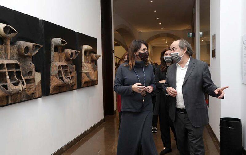 Presentación de la exposición del Mubag