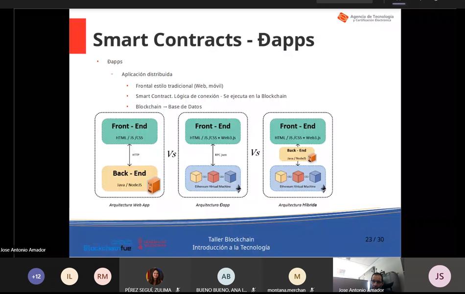 La Generalitat estudia aplicar blockchain en la contratación pública