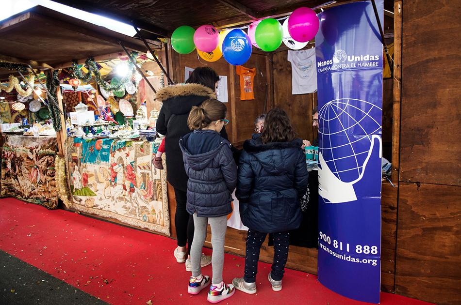 El mercadillo de Navidad de les Arts contará de nuevo con su Rincón solidario