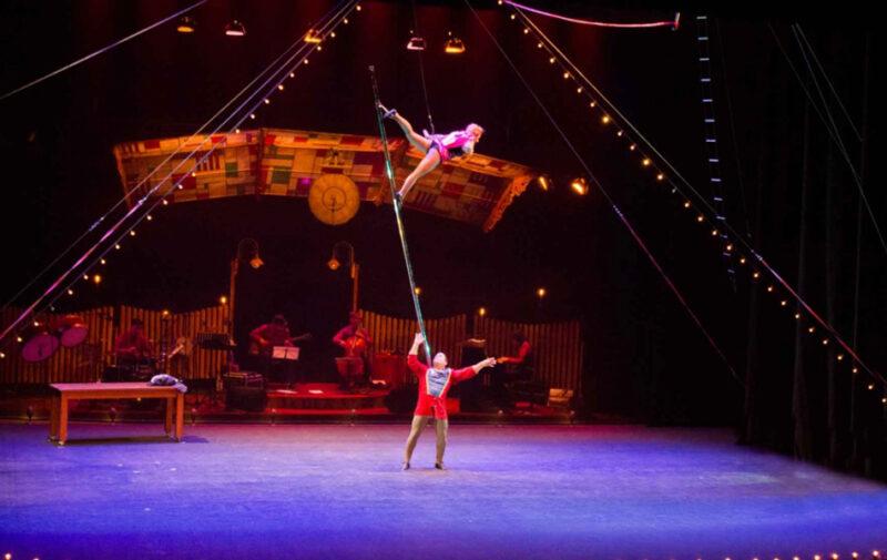El Circo Gran Fele estrena su nuevo espectáculo Xas!¡Hasta siempre!