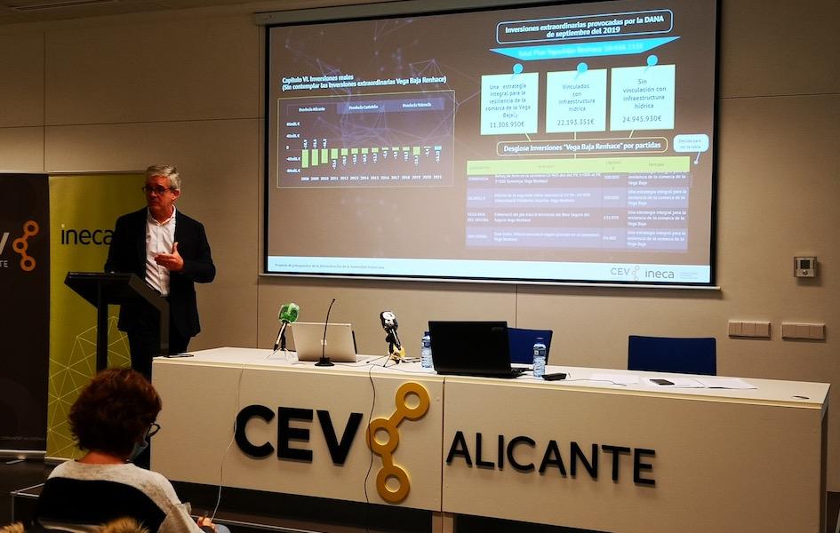 La Generalitat cuadra su presupuesto inversor para Alicante con la DANA