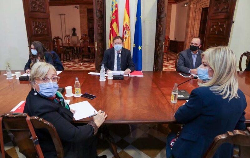 reunión interdepartamental del consell