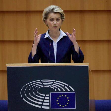 La presidenta del Ejecutivo comunitario, Ursula von der Leyen.