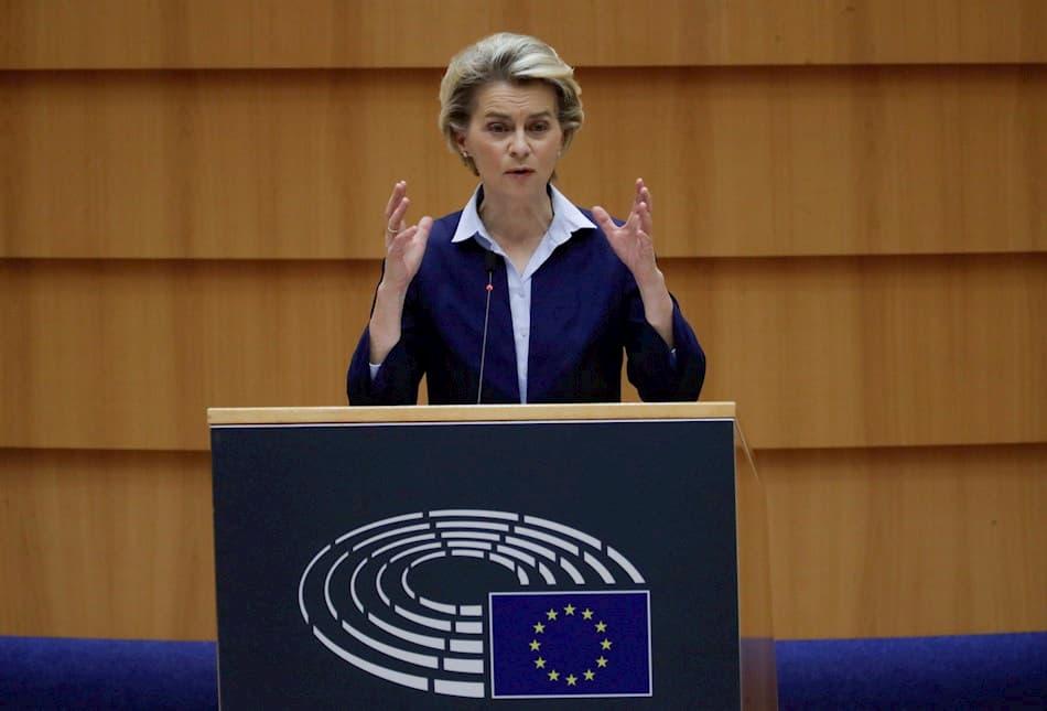 Presidenta de la Comisión Europea, Ursula von der Leyen