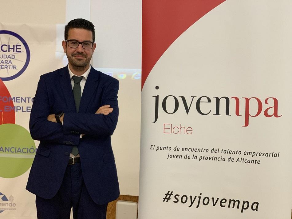 Adrián Antón Pacheco, nuevo presidente de Jovempa Elche