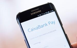 App de Caixabank para el uso de Bizum.