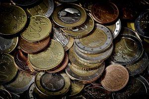 Monedas de euro.