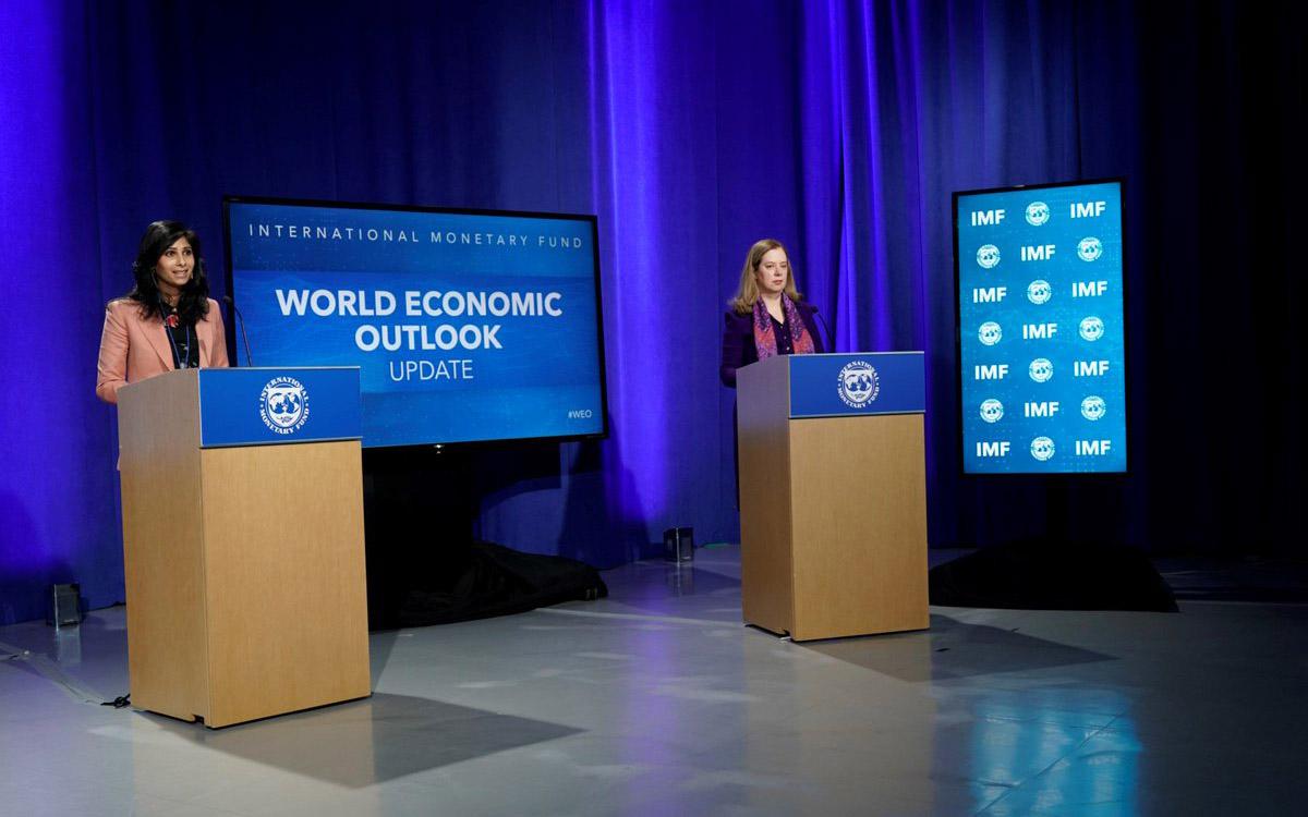 Presentación de la actualización de perspectivas de crecimiento de la economía mundial del FMI