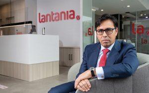 Federico Ávila, CEO de Grupo Lantania en la sede de la compañía