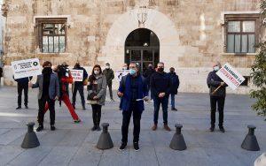 Hostelería protestas Ashocas