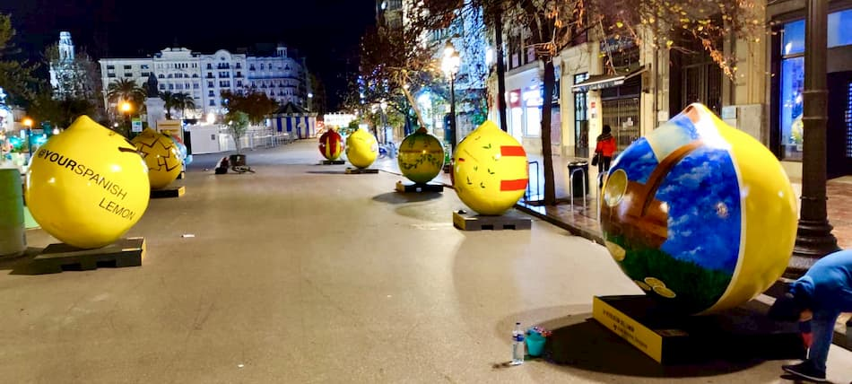 Lemon Art en Valencia