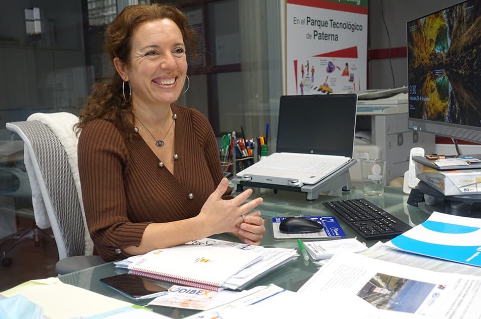 Manuela Pedraza, gerente de la EGM Parc Tecnològic Paterna