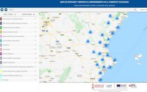 Mapa del ecosistema de emprendimiento de la Comunitat Valenciana