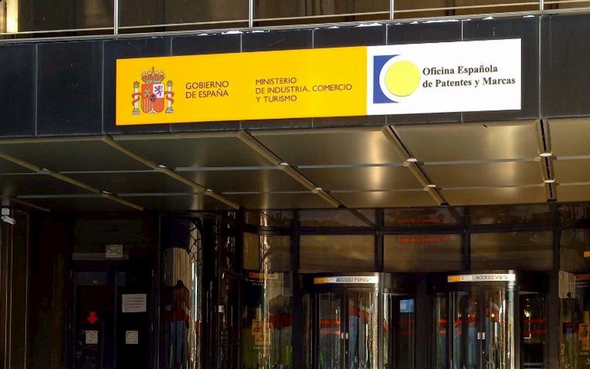 Edificio de la Oficina Española d Patentes y Marcas.