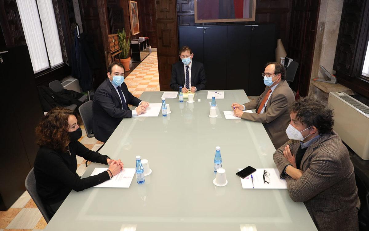 Colomer, Puig, Soler e Illueca hablan sobre el Plan Resiste