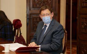 El president de la Generalitat, Ximo Puig, preside la Mesa Interdepartamental para la prevención y actuación frente a la covid-19