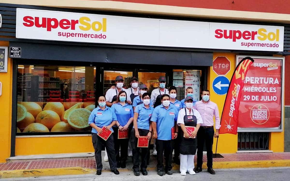 Uno de los supermercados de Supersol.