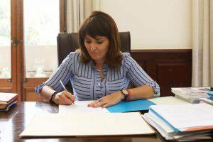 La diputada Julia Parra
